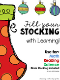 Fill Your Stocking with Learning! (Use for all subjects, a