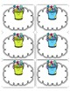 Bucket Fillers Labels: Editable!