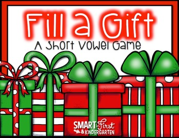 Fill a Gift Short Vowel Games