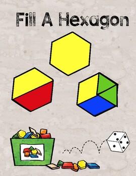 Fill a Hexagon Geometry Board Game