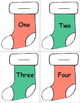 Fill a Stocking Number Activity 1 to 100 - numerals and number words