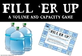 Fill 'er Up - A Volume and Capacity Game