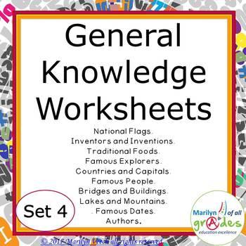 Fill-er-in-er-ers - Set 4 - General Knowledge