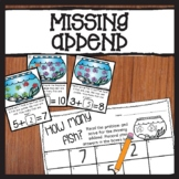 Fill in The Missing Addend Word Problems Printable