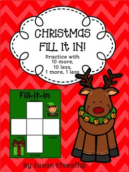 Place Value - Fill in the 100s Chart Bundle - Practice with 10 more, 10 less