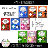Place Value - Fill in the 100s Chart Bundle - Practice wit