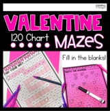 Fill in the 120 Chart, Valentine