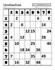 Fill in the Blank Multiplication Table (Facts 1 through 8)