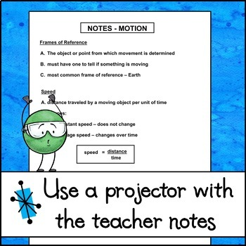Notes - Motion