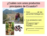Fill in the Blank Cloze Notes for Ecuador PowerPoint