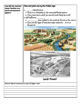 Fill-in-the-Blank Notes for VA SOL WHI.9 Early Middle Ages