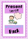 Fill in the Blank Present Tense Worksheet Pack for ESL/EFL