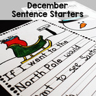 December Writing Prompts for Beginning Writers