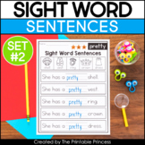 Fill in the Blank Sight Word Sentences | Set 2