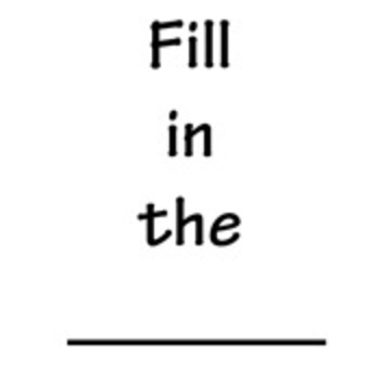Fill in the Blanks (Addition and Subtraction)
