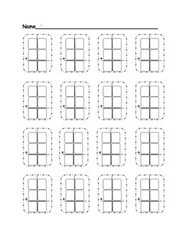 Fill in the Double Digit Addition Problem