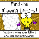 Fill in the Missing Alphabet Letters!