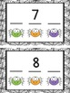 Fill in the Missing Number Spider Activity