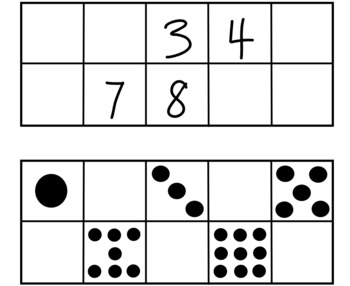 Fill in the Missing Number Ten Frames