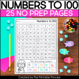 Fill in the Missing Numbers | 100's Chart Worksheets