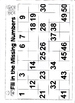 Fill in the Missing Numbers Activity Worksheets