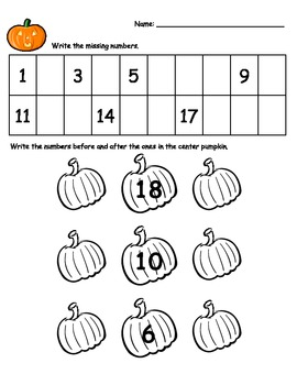 Fill in the Missing number, counting 1-100