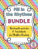 Fill in the Rhythms-Duple and Triple-BUNDLE