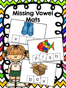 Fill in the Vowel Mats
