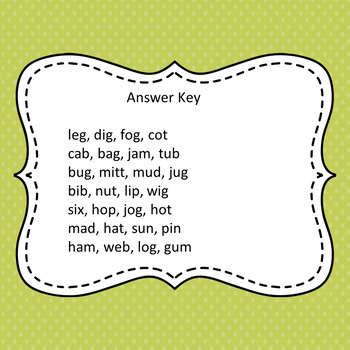 Beginning Sounds Fill in the missing letter beginning sounds (fill in the blank)