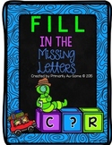 Fill in the Missing Letters {Phonics Work}