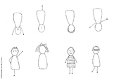 Fill in the missing parts... printable people
