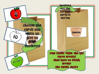 "Addition ""Fill the Basket"" with Apples Game"