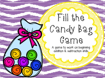 Fill the Candy Bag Game Freebie