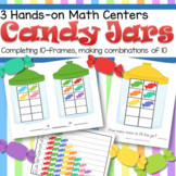 Candy 10-Frames and Combinations of 10 Centers