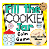 Fill the Cookie Jar Coin Recognition Game
