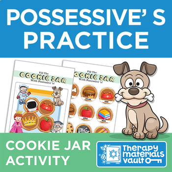 Fill the Cookie Jar with Possessive 'S!