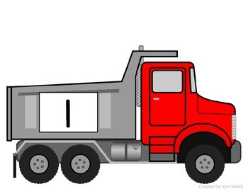 Fill the Dump Truck {A Number Recognition Activity}