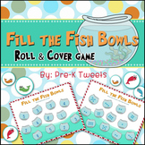 Fill the Fish Bowls Roll and Cover Game