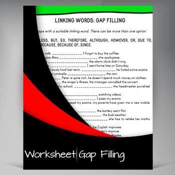 Fill the Gap - Link Words