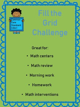 Fill the Grid Challenge