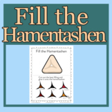 Fill the Hamentashen Purim Activity