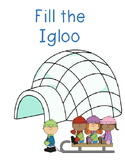 Fill the Igloo- Sight Word Practice