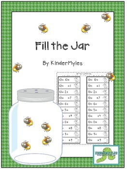 Fill the Jar {Addition Races}