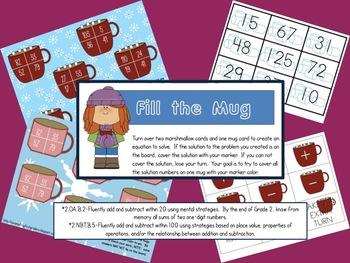 Fill the Mug Small Group Math Activity