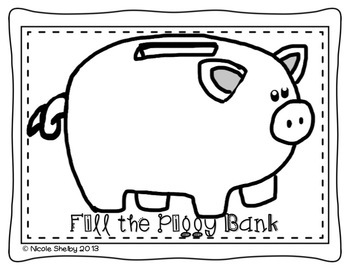 Fill the Piggy Bank Game (for any subject or concept)