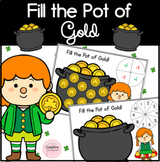 Fill the Pot of Gold Saint-Patrick's Day Math Activities