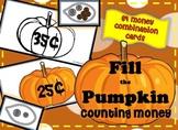 """Money """"Fill the Pumpkins"""" Game"""
