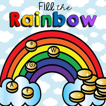 Fill The Rainbow Letter Incentive Chart