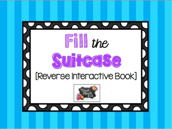 Fill the Suitcase Reverse Interactive Book