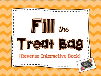 Fill the Treat Bag Reverse Interactive Book